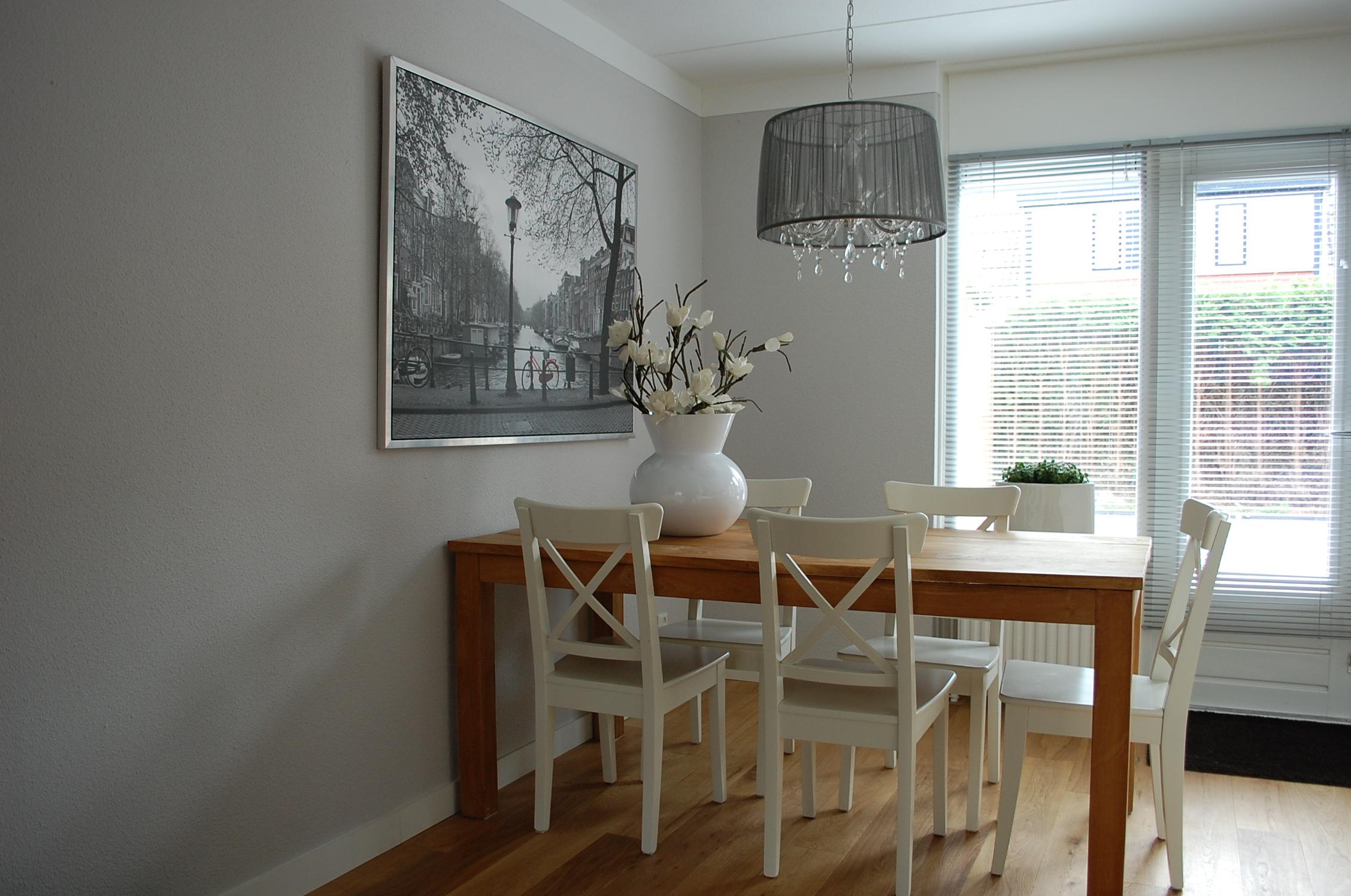 Witte keuken idee - Keuken muur kleur idee ...