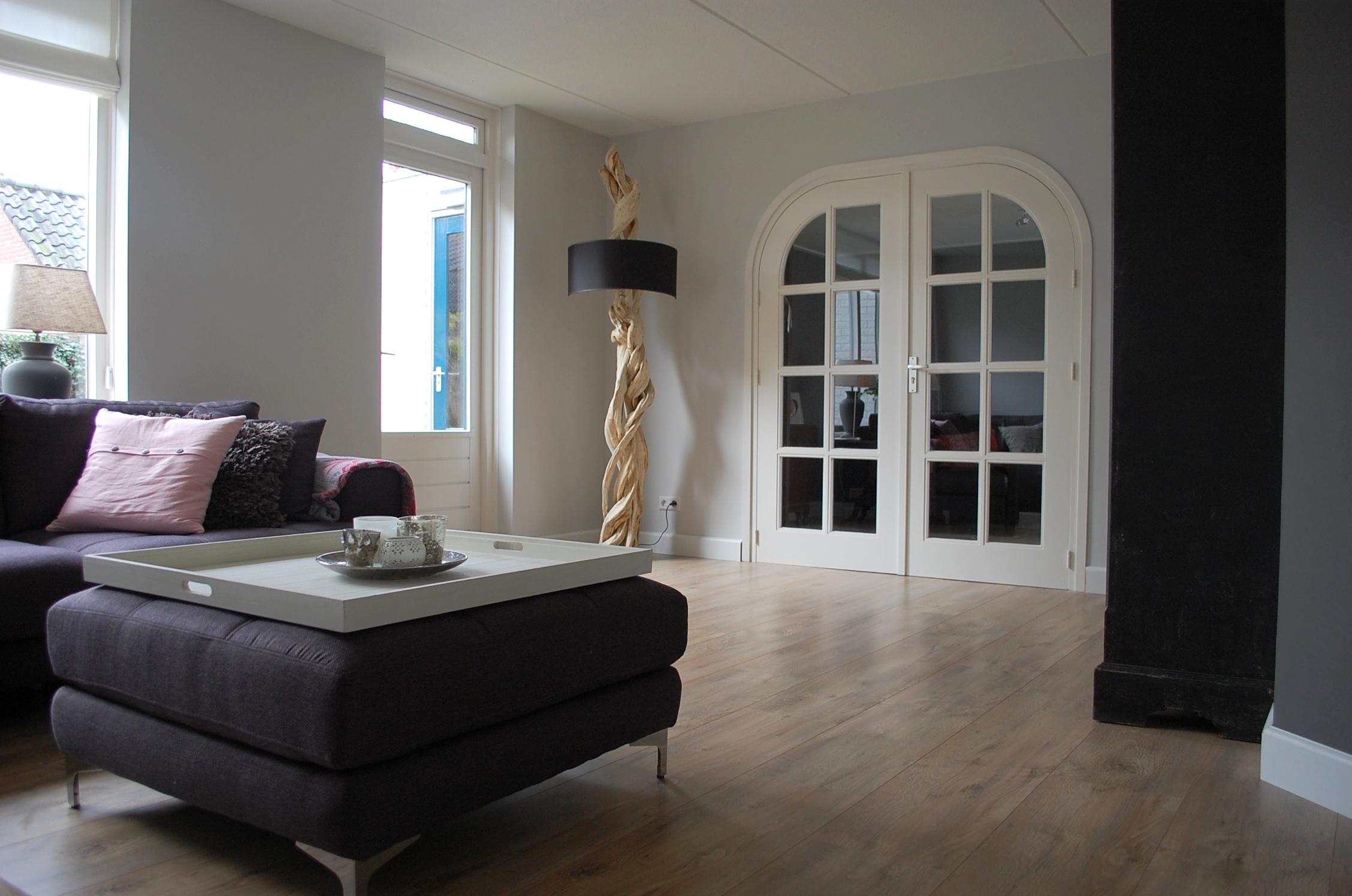 Binnenkijken woonhuis kerschoten maison belle - Kleur grijze leisteen ...