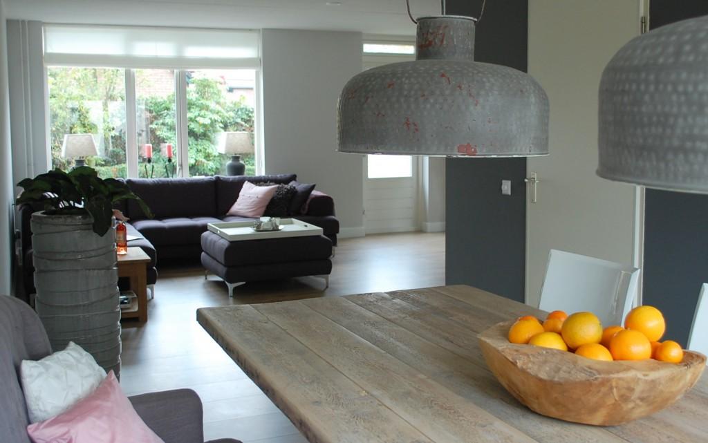 Interieuradvies woonhuis kerschoten maison belle - Eethoek in de keuken ...