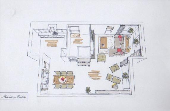 Interieurontwerp woning ugchelen maison belle for Foto van interieurontwerp