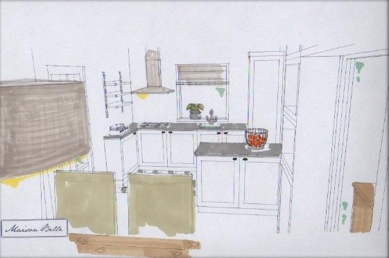 Interieurontwerp aan de spreng maison belle for Interieurontwerp