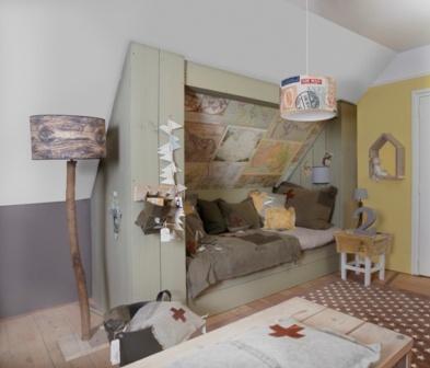 Avontuurlijke jongenskamer maison belle - Jaar oude kamer van de jongen ...