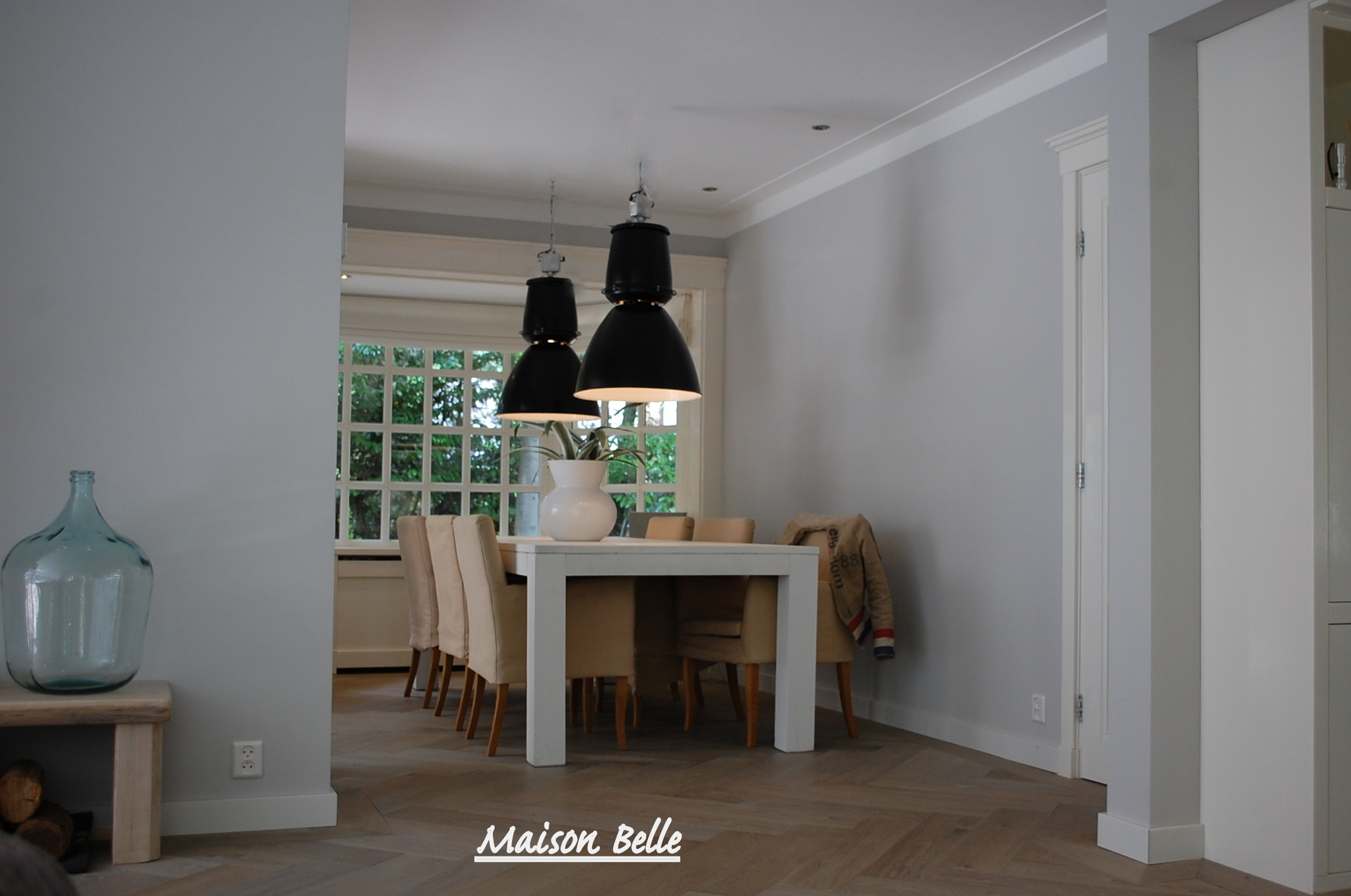 Interieurontwerp verbouwing en renovatie rietgedekte villa   Maison Belle