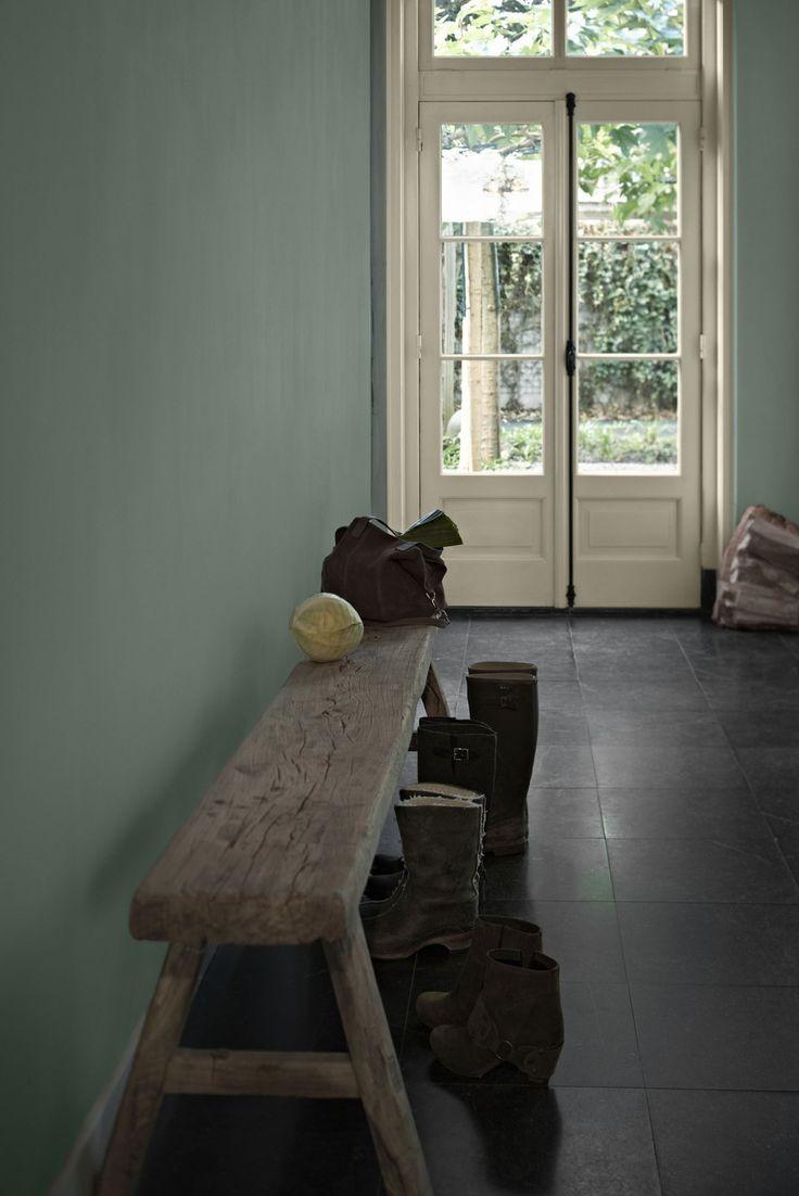 Olijf groen in huis...   maison belle