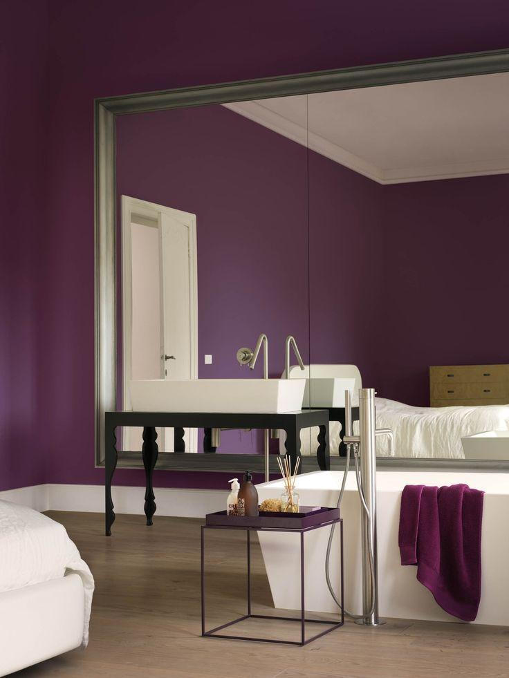 De kleur lavendel in je interieur maison belle for Kleur muur