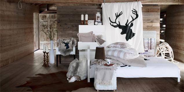 De nieuwe chalet winter collectie van ikea maison belle - Houten chalet interieur ...