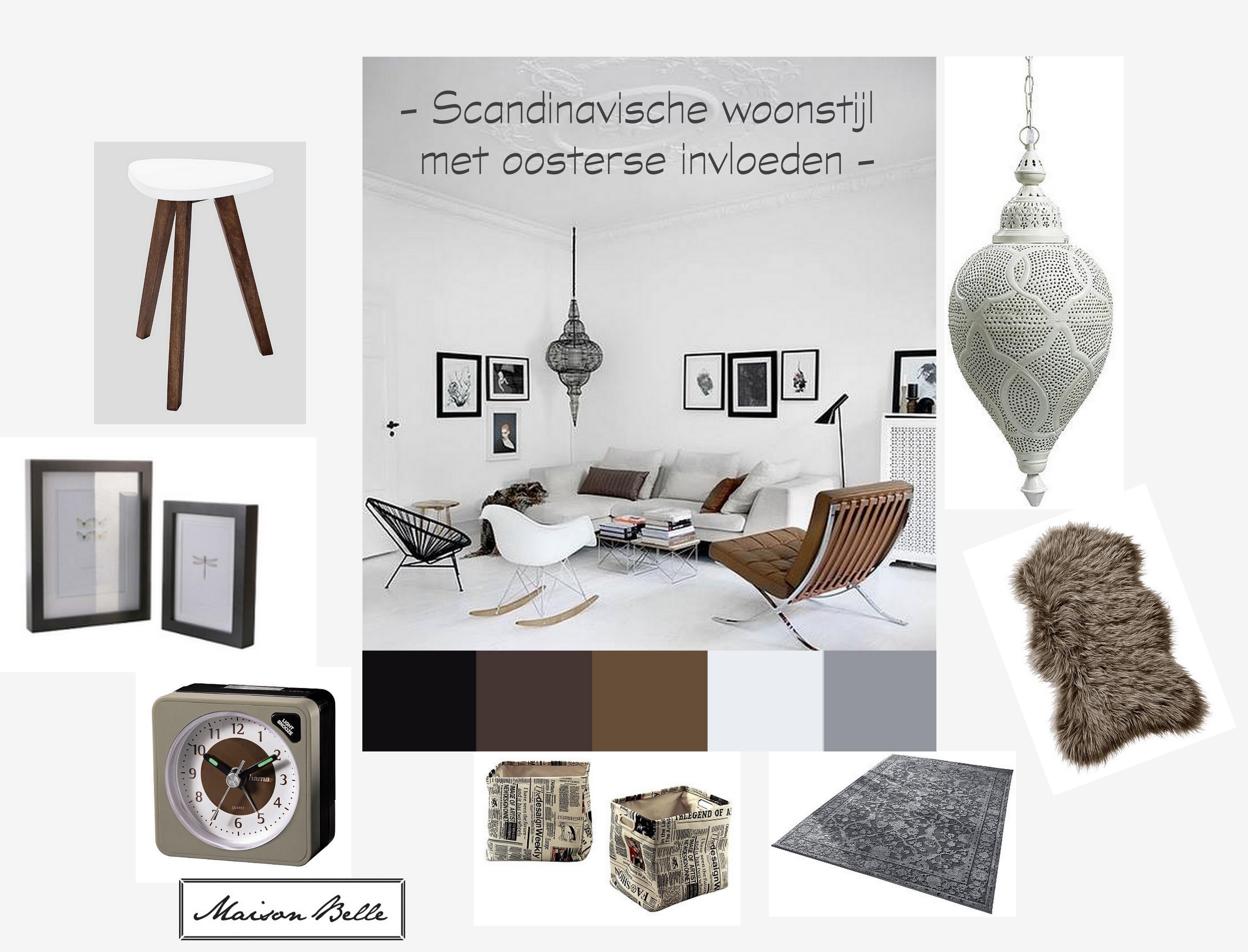 Scandinavische woonstijl met oosterse invloeden - Maison Belle