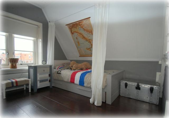 Kamer blauwe jongen: baby jongens kamer jy u