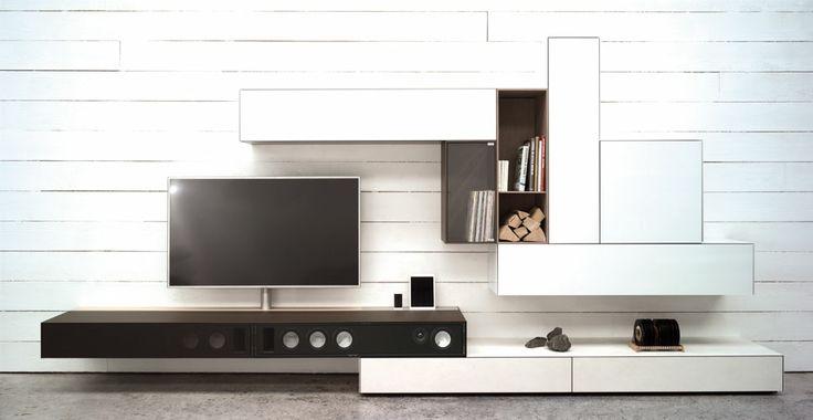 Moderne tv meubels maison belle - Tv hoek meubels ...