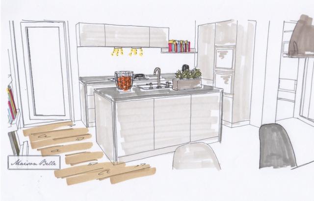 Jaren 30 Keuken Maken : bouw beginnen om van dit nieuwe huis een sfeervol gezinshuis te maken