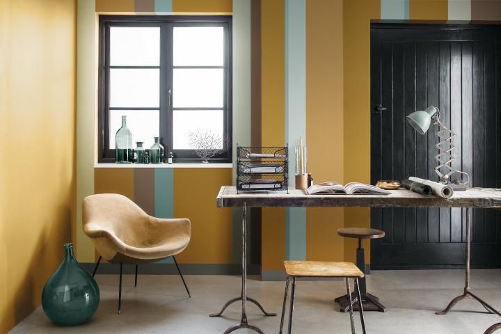 Oker goud in je interieur maison belle for Interieur kleuren 2015