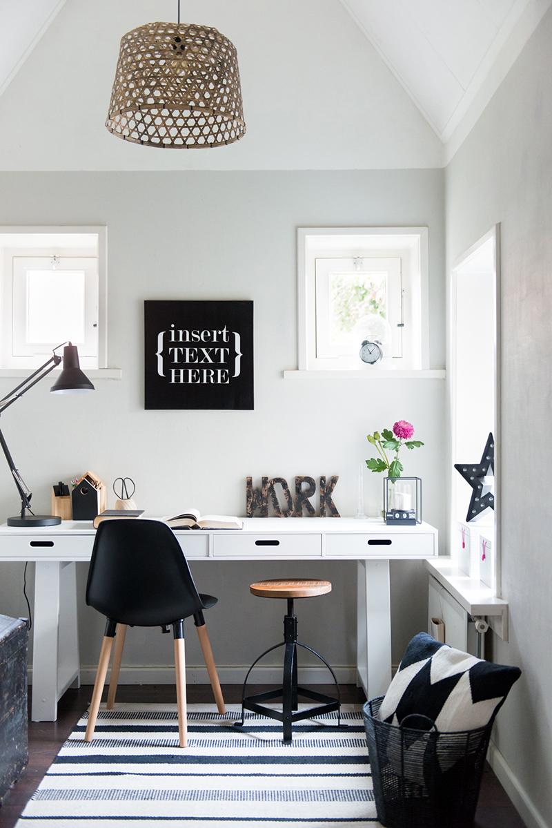 Styling Werkplek In Zwart Wit Karwei Maison Belle