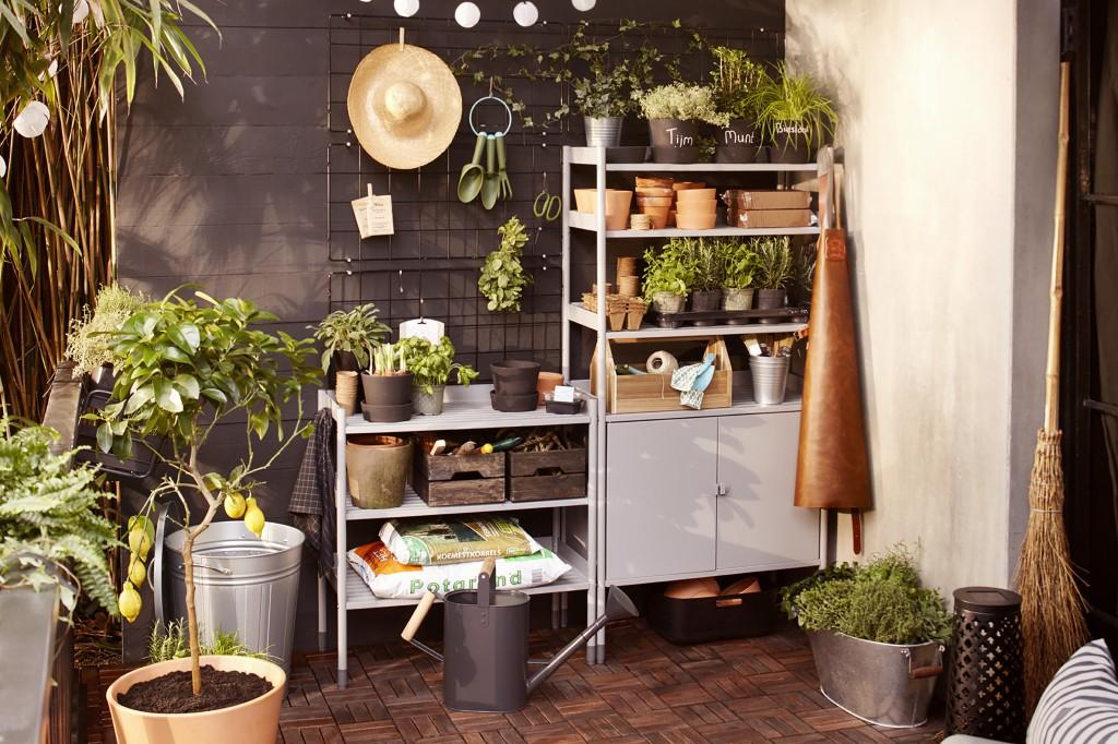 Plantenrek keuken volg de nieuwe trend een tuinmuur for Wandrek tuin