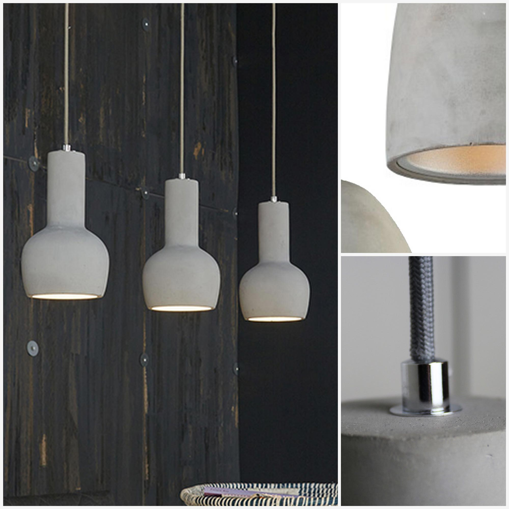 Interieur trends verlichting maison belle for Staande lamp betonlook