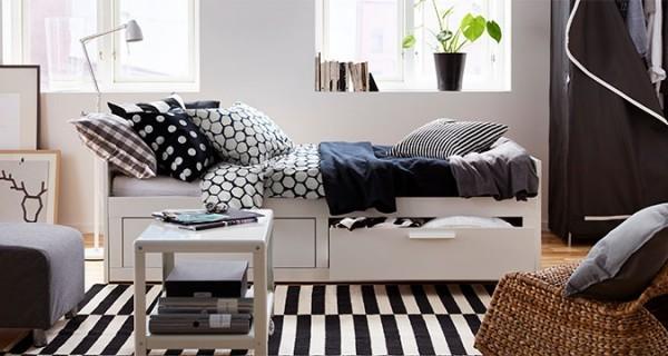 Ikea Kleine Slaapkamer Inrichten : Studenten kamer inrichten maison ...