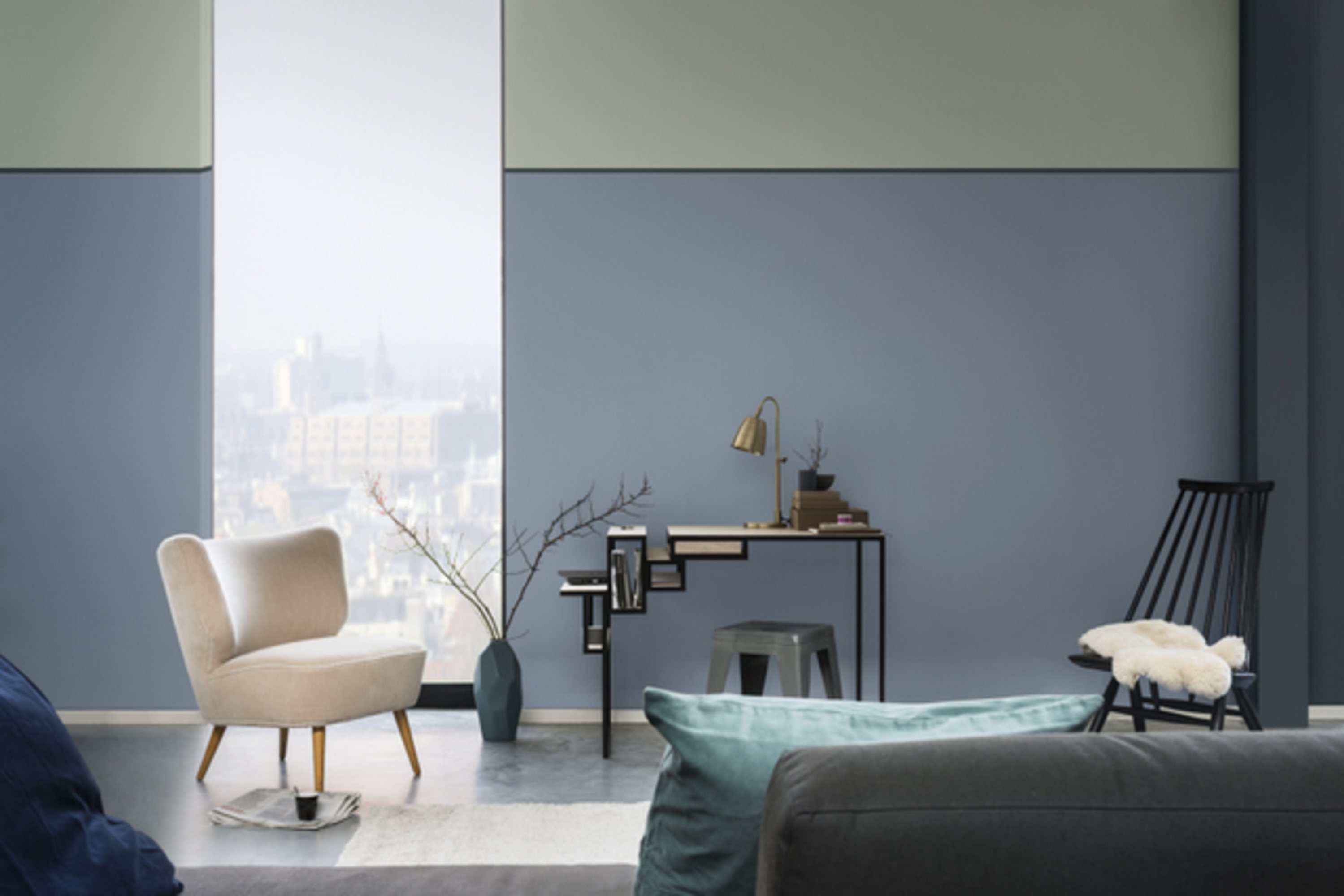 Kleur van het jaar 2017 maison belle for Kleuren woonkamer 2016