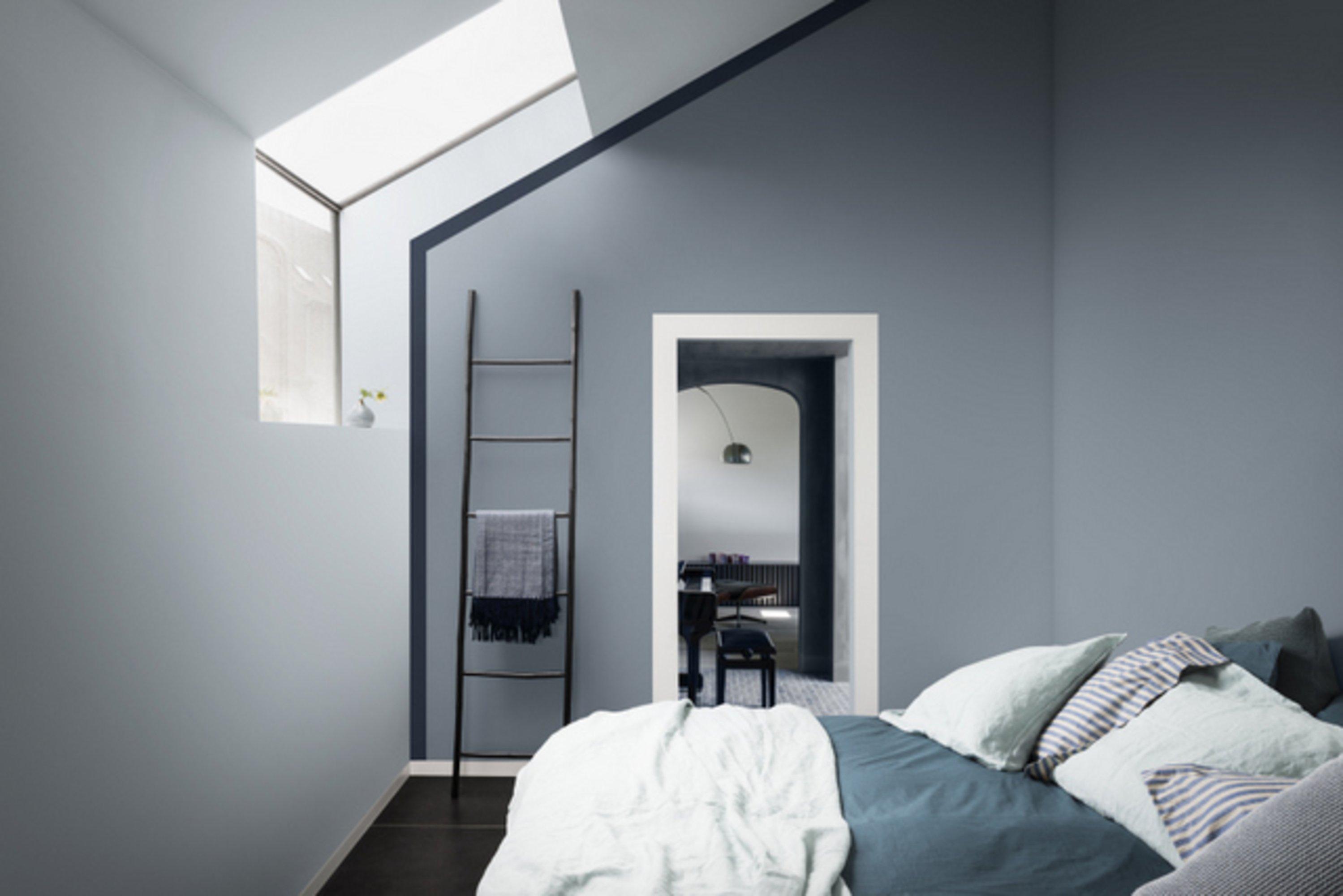 ... Aan Te Passen Kleuren : maisonbelle-slaapkamer-schilderen-blauw