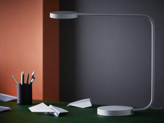 Ikea hay bureaulamp