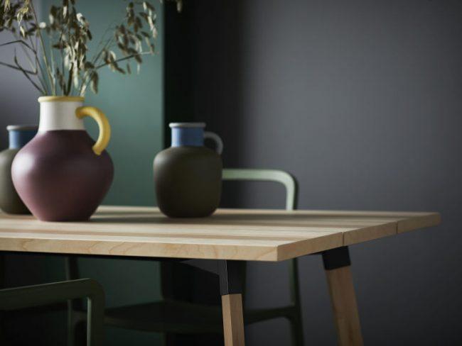 Ikea hay eettafel