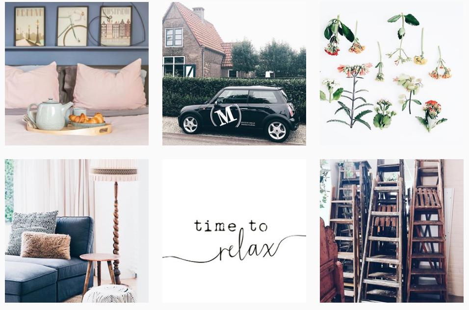 Maison Belle interieur en advies instagram