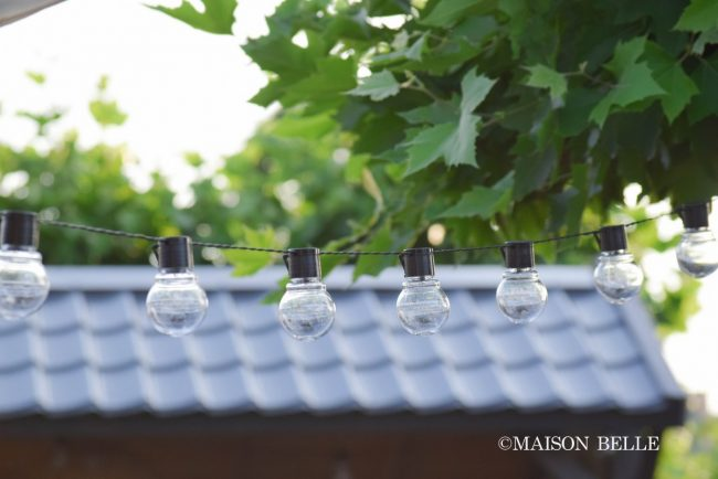 lichtsnoer tuin