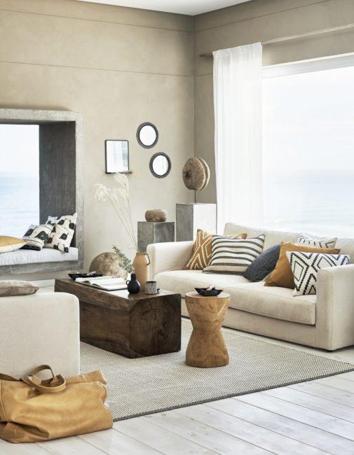 Oker geel voor je interieur - woon column - Maison Belle