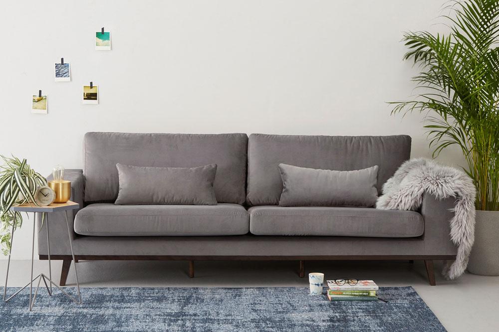 kleine woonkamer inrichten - interieur tips - Maison Belle