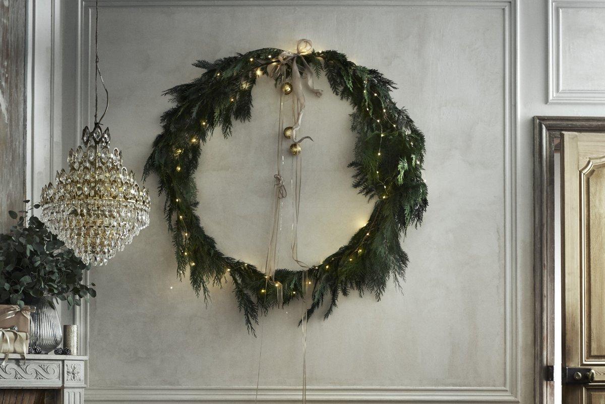 kerstkrans maken groen